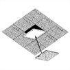 Draper 2 ft. x 2 ft. Drop-In Ceiling Tile Access Door in White