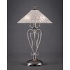 "Toltec Lighting Olde Iron 27"" H Table Lamp with Empire Shade"