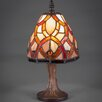 """Toltec Lighting 12"""" H Table Lamp with Empire Shade"""