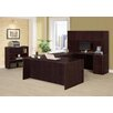 DMI Office Furniture Saratoga 3 Piece U-Shape Desk Office Suite