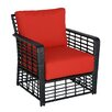 Meadow Decor Melrose Club Chair with Cushion