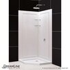 "DreamLine SlimLine 36"" by 36"" Neo Shower Base and QWALL-4 Shower Backwall Kit"