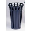 Witt Oakley 24-Gal Stadium Series SMB Round Receptacle with Flat Top Lid