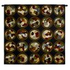 Fine Art Tapestries Rhythmic Circles II by Sarah Simpson Tapestry