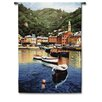 Fine Art Tapestries Classical Harbor at Last Light by Ramon Pujol Tapestry