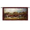 Fine Art Tapestries Abstract Meet / North Warwick by Acorn Studios Tapestry