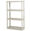 "Sterilite 57"" H 4 Shelf Shelving Unit Starter"