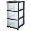 "Sterilite 24"" Storage Cart (Set of 2)"