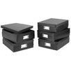 Whitmor, Inc 5 Count Document Boxes