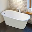 "Aquatica Inflection 61.5"" x 29.5"" Soaking bathtub"