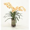 Distinctive Designs Waterlook® Vanda Orchid Silk Floral with Orchid Bark in Glass