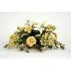 Distinctive Designs Silk Lilies, Dahlias, Hydrangeas and Spirea in Low Tray