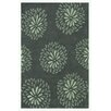 Noble House Blossom Gray Area Rug
