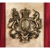 Design Toscano Royal Coat of Arms of Great Britain Wall Sculpture