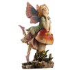 Design Toscano Fairy Dust Twins Mushroom Garden Statue