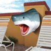 Design Toscano The Great White Shark Trophy Wall Decor