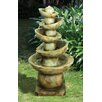 Design Toscano Offset Balance Cascading Resin Tiered Fountain