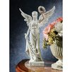 Design Toscano Nike the Winged Goddess of Victory Bonded Marble Resin Statue