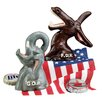 Design Toscano GOP Republican Party Elephant Cast Iron Bottle Opener (Set of 2)