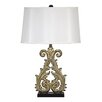 """Design Toscano Crowne Essex 28.5"""" H Table Lamp with Drum Shade (Set of 2)"""