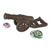 Design Toscano Loose Cannon Cast Iron Bottle Opener