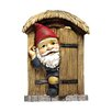 Design Toscano The Knothole Door Gnome Garden Welcome Tree Statue
