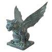 Design Toscano Winged Gargoyle of Naple Garden Statue