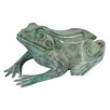 Design Toscano Small Bull Frog Cast Bronze Garden Statue