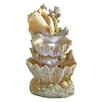 Design Toscano Resin Ocean's Bounty Cascading Shell Garden Fountain