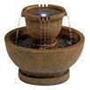 Design Toscano Resin Richardson Oval Urns Cascading Garden Fountain