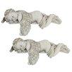 Design Toscano Sleepy Time Angel Figurine (Set of 2)