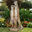 Design Toscano The Meerkat Gang Statue