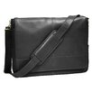 Royce Leather Luxury Calfskin Suede Lined Laptop Messenger Bag