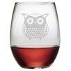 Susquehanna Glass 21 Oz. Stemless Wine Glass (Set of 4)