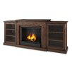 Real Flame Frederick Entertainment Center Gel Fuel Fireplace