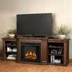 Real Flame Valmont TV Stand with Electric Fireplace