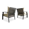 Real Flame Chelsea Casual Chair with Cushion (Set of 2)