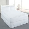 Perfect Fit Industries Clean and Fresh Cotton Double Diamond Mattress Pad