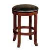 "Sunny Designs Cappuccino 24"" Swivel Bar Stool with Cushion"