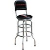 "On The Edge Marketing Chevrolet 30.5"" Swivel Bar Stool with Cushion"