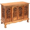 """EXP Décor Handmade Acacia 39"""" Bamboo Forest Storage Sideboard Buffet"""