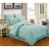 Luxury Home Hampton House 8 Piece Comforter Set