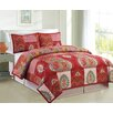 Luxury Home Kantha Coverlet Set