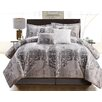Luxury Home Tia 6 Piece Comforter Set