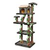"Kitty Mansions 73"" Sequoia Cat Tree"