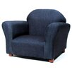 Fantasy Furniture Roundy Microsuede Kids Novelty Chair