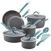 Rachael Ray Cucina Hard Anodized Nonstick 12 Piece Cookware Set