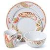Paisley 16 Piece Dinnerware Set