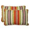 Pillow Perfect Roxen Indoor/Outdoor Throw Pillow (Set of 2)