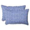 Pillow Perfect Seeing Spots Indoor/Outdoor Throw Pillow (Set of 2)